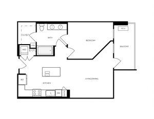 A5 apartment floorplan