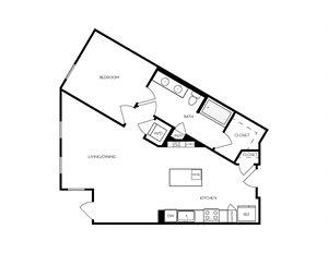 A12 apartment floorplan