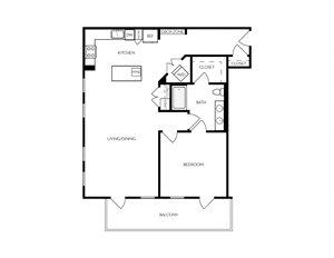 A15 apartment floorplan