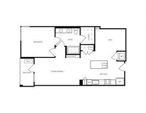 AD1 apartment floorplan