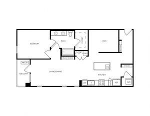 AD2 apartment floorplan