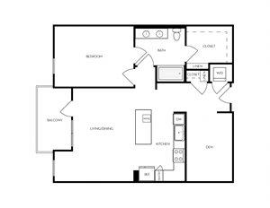 AD3 apartment floorplan