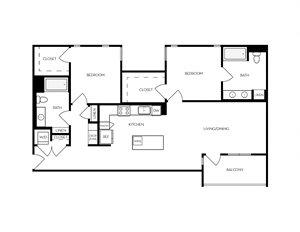 B11 apartment floorplan