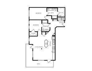 B14 apartment floorplan