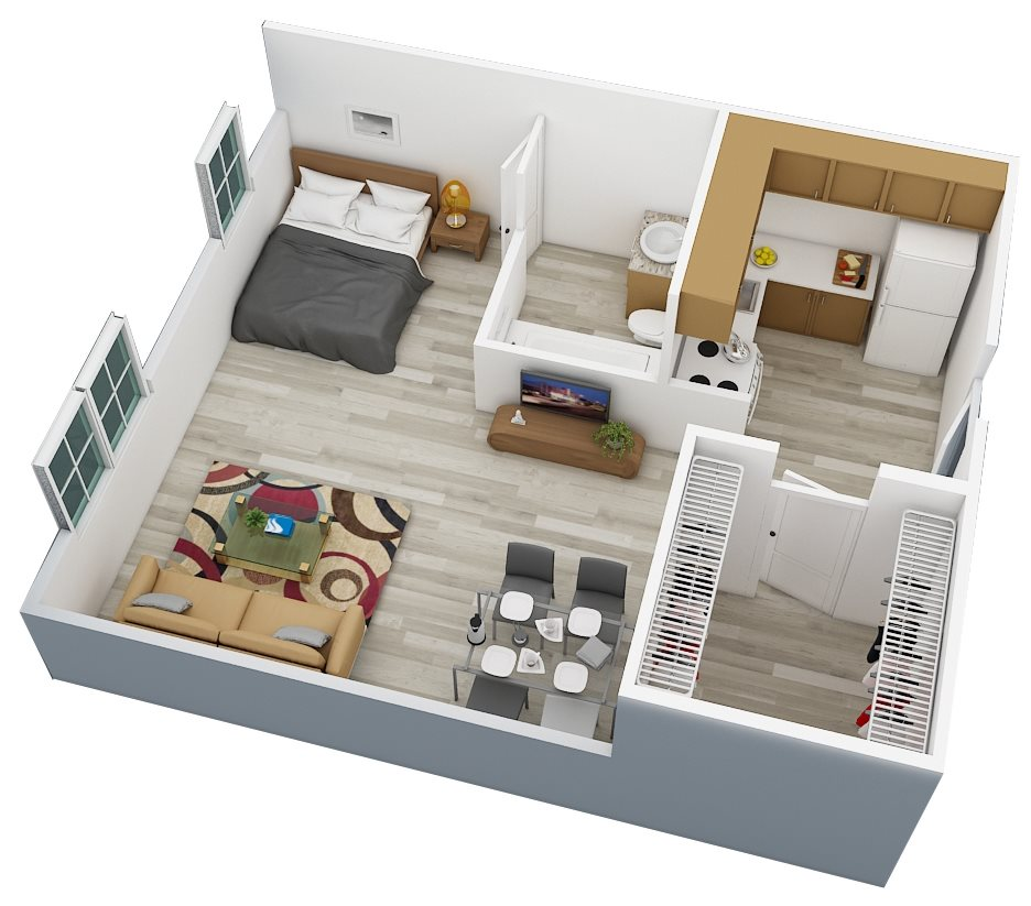 Floor Plans Of Campus Towers Apartments In Jacksonville Fl