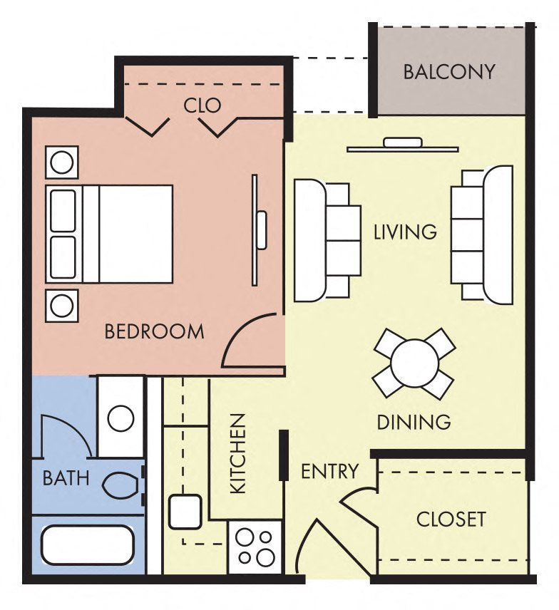 Floor Plans Of Episcopal Catholic Apartments In Winter