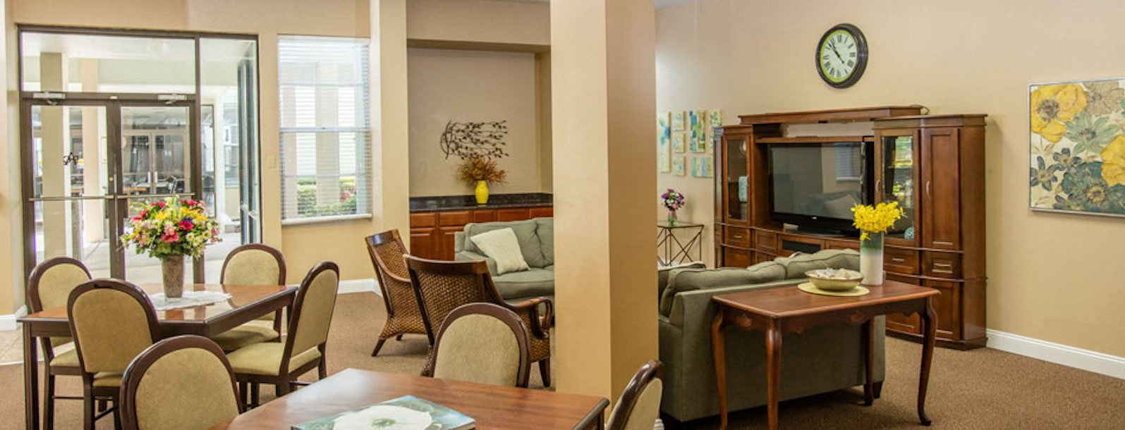 Episcopal Catholic Apartments in Winter Park, FL clubhouse interior