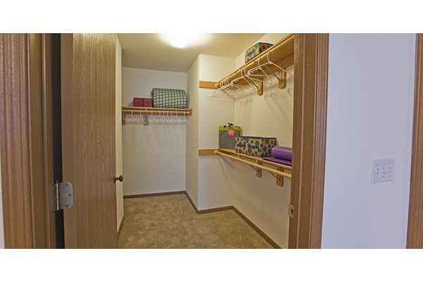 Large Walk-In Closets