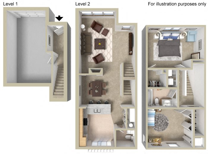 Townhouse A Floor Plan 8