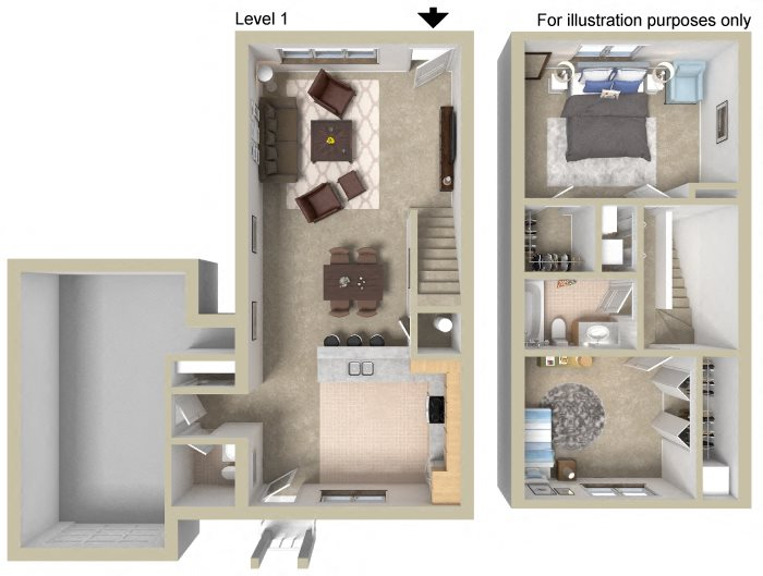 Townhouse B Floor Plan 9