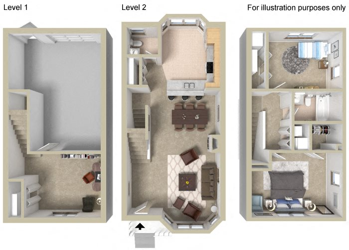 Townhouse C Floor Plan 10