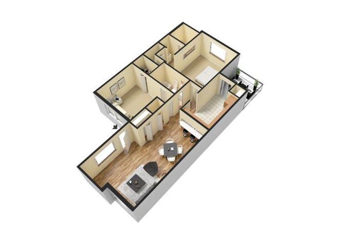 Regular Two Bedroom