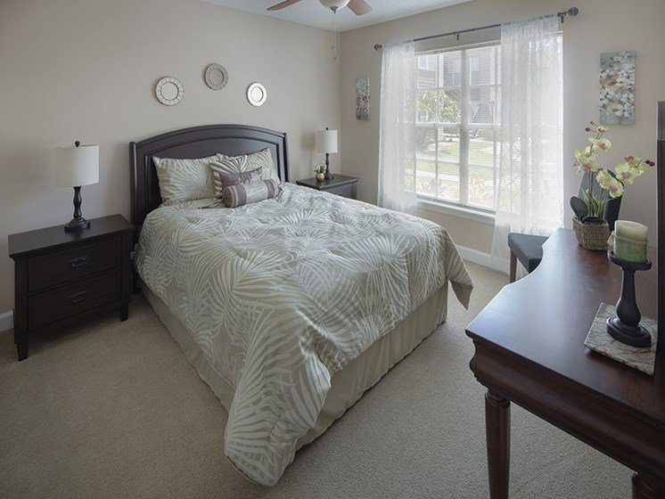 Bloomingdale Woods Apartments Valrico Florida Model bedroom