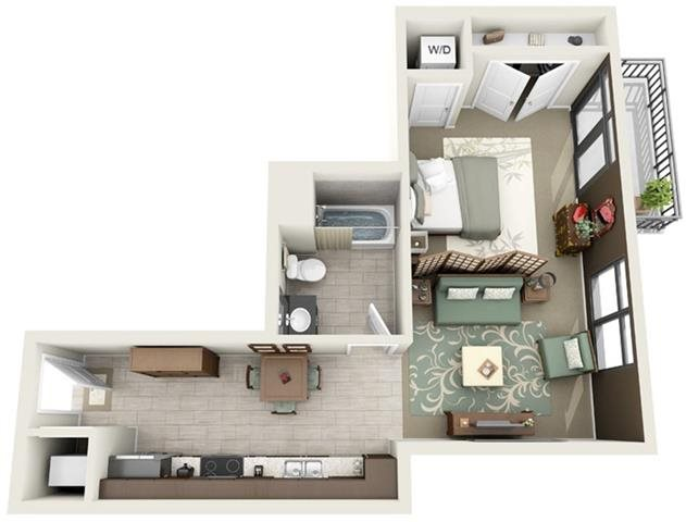 Beaufain Floor Plan 1