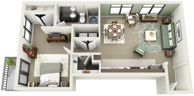 Broad Floor Plan 9