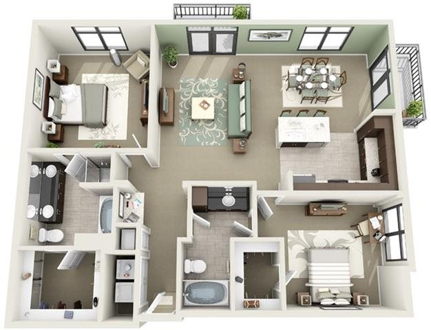 Market Floor Plan 14