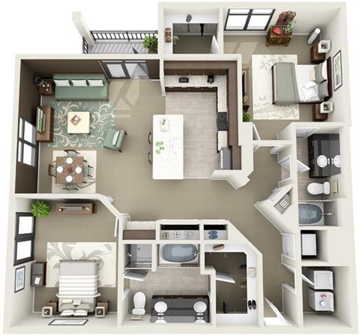 Sumter Floor Plan 16
