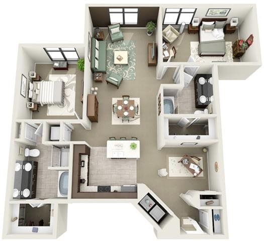 Wentworth Floor Plan 17