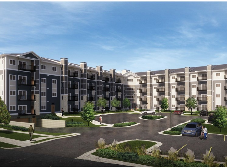 Eastgate Apartment Exterior Rendering