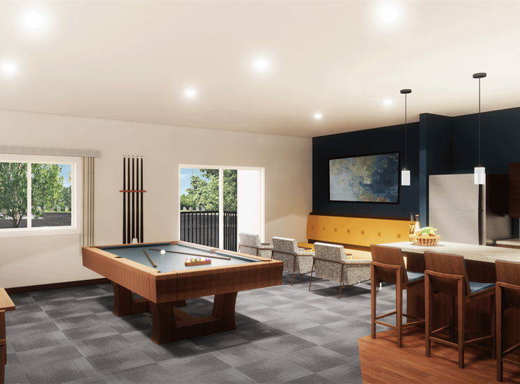Eastgate Apartment Clubroom Rendering