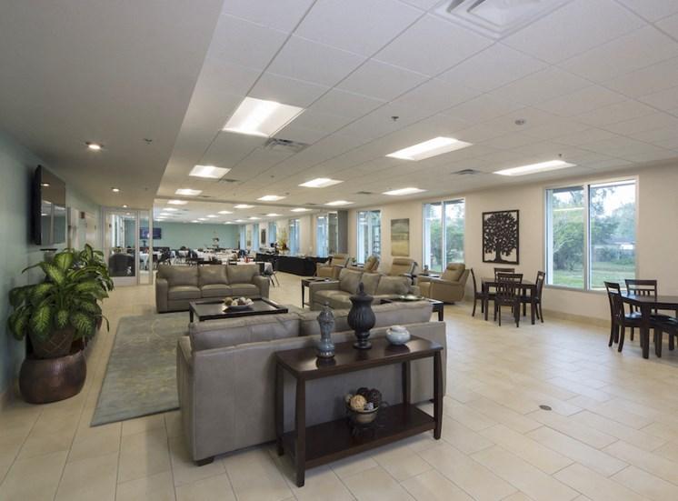Mount Carmel Gardens senior apartments in jacksonville, florida community room