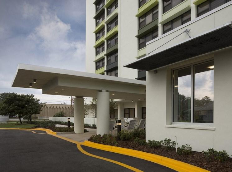 Mount Carmel Gardens senior apartments in jacksonville, florida drive up