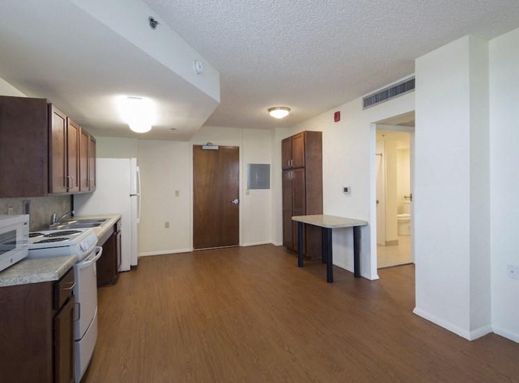 Mount Carmel Gardens senior apartments in jacksonville, florida accessible floor plans