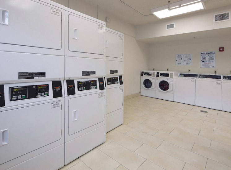 Mount Carmel Gardens senior apartments in jacksonville, florida laundry center