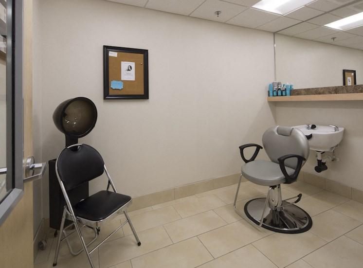 Mount Carmel Gardens senior apartments in jacksonville, florida salon beauty shop