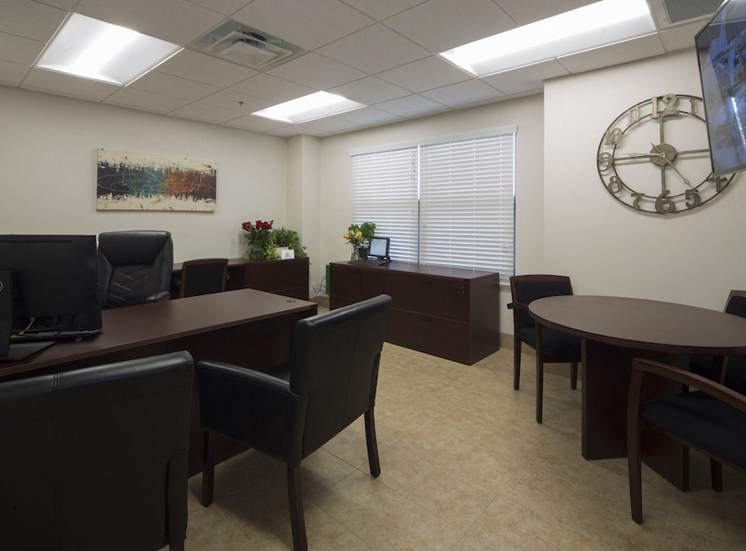 Mount Carmel Gardens senior apartments in jacksonville, florida leasing office