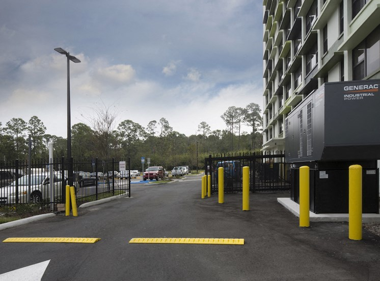Mount Carmel Gardens senior apartments in jacksonville, florida controlled access