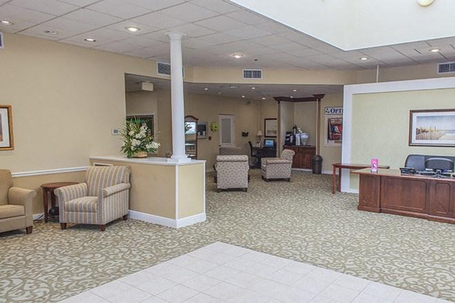 Concierge Sunrise Foyer at Pacifica Senior Living Sunrise, Florida, 33351