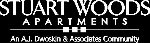 stuart woods white logo png