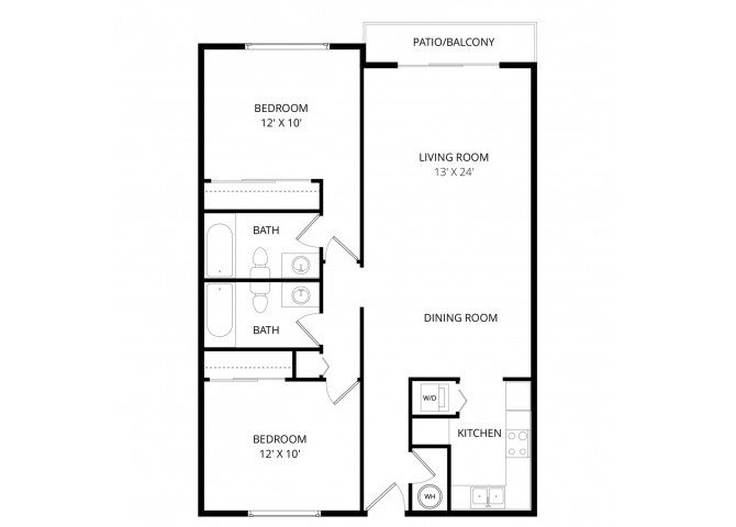 A Cappella Apartments Floor Plans Apartments In Lynnwood Weidner