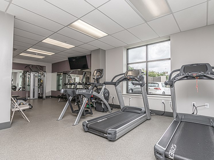 Fully Equipped Fitness Center at The Square, Ardmore