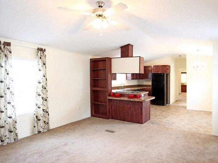 Spacious Living Areas at Heritage Oaks Rental Homes in Lincoln, NE