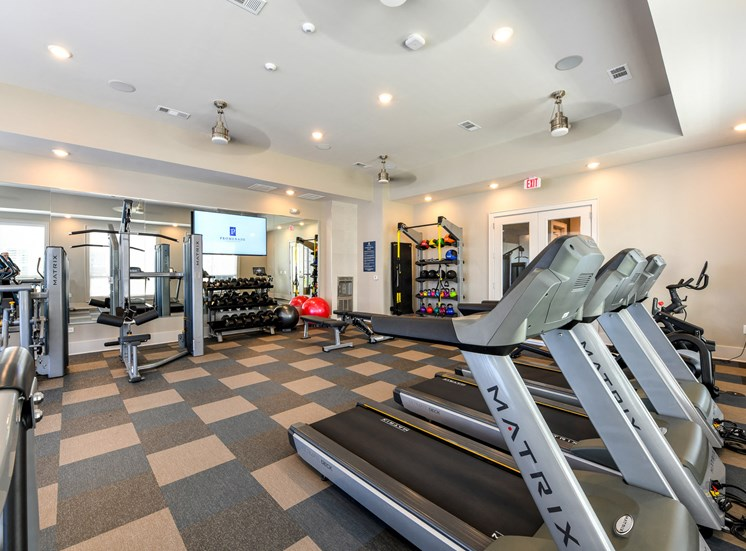 Promenade at Newnan Crossing fitness center.