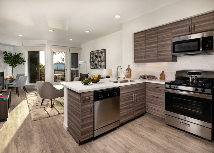 Picasso Brentwood Kitchen Living Dining