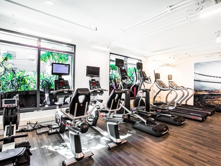 Beautiful Fitness Center at The Rise Hayes Valley, California, 94103