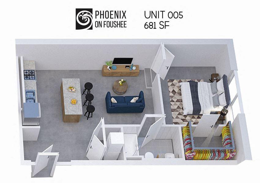 Phoenix on Foushee Unit 05