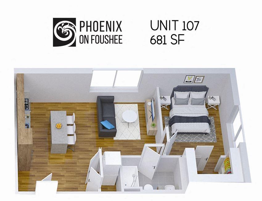 Phoenix on Foushee Unit 107