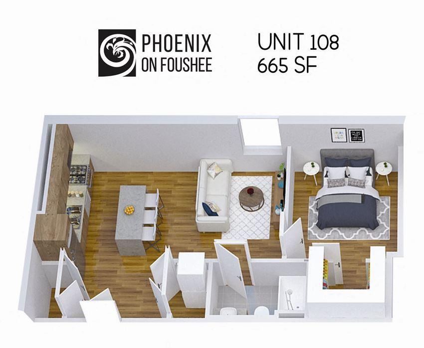 Phoenix on Foushee Unit 108