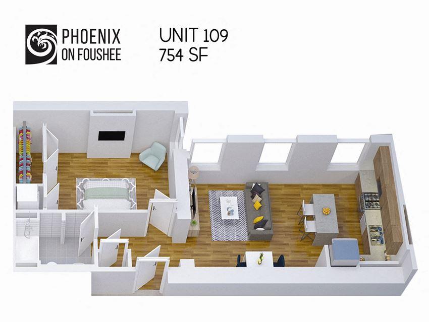 Phoenix on Foushee Unit 109