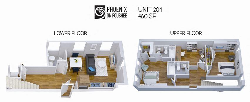 Phoenix on Foushee Unit 204