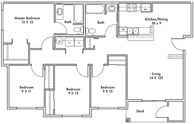 Sinclair Floor Plan 9