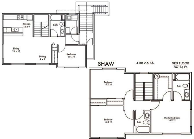 Shaw Floor Plan 13