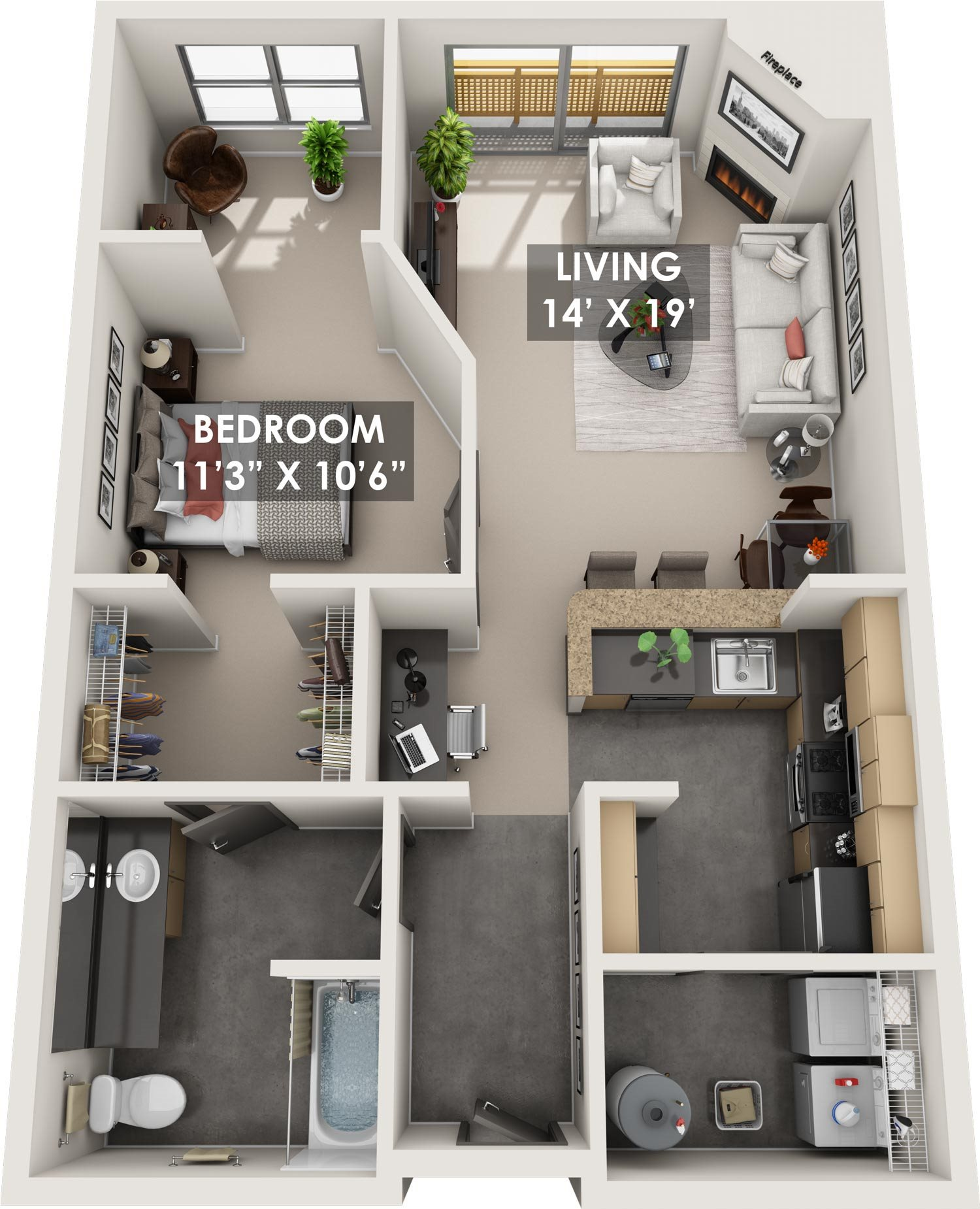 Tradewinds 3D Floorplans