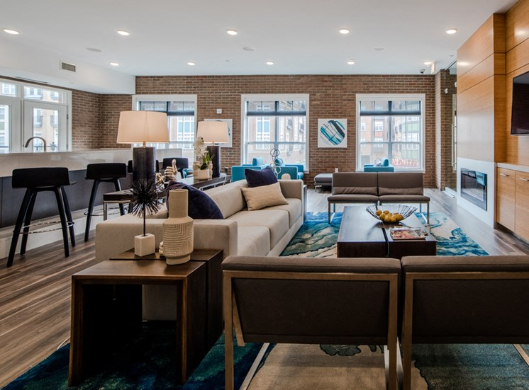 Extra-Comfortable Furnishings at The Foundry, South Bend, IN, 46617