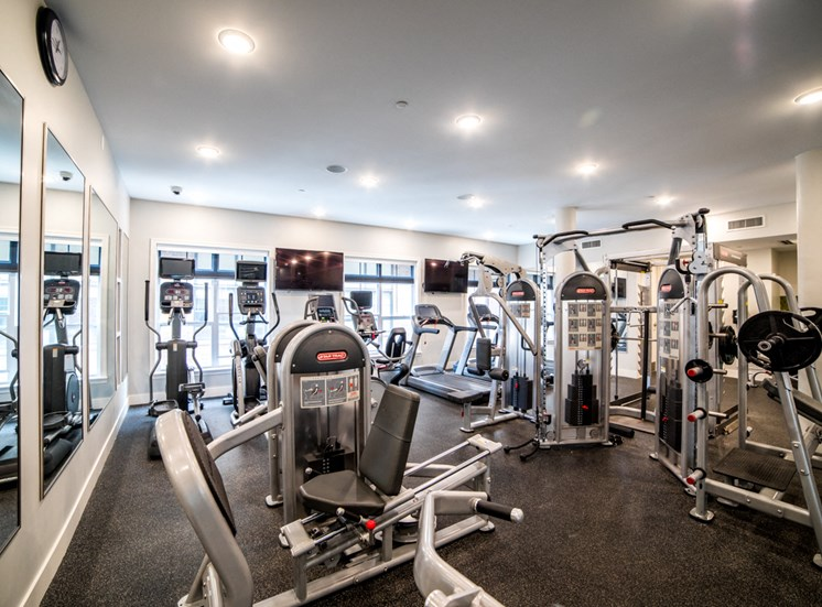 24-Hour Fitness Center at The Foundry, South Bend, IN