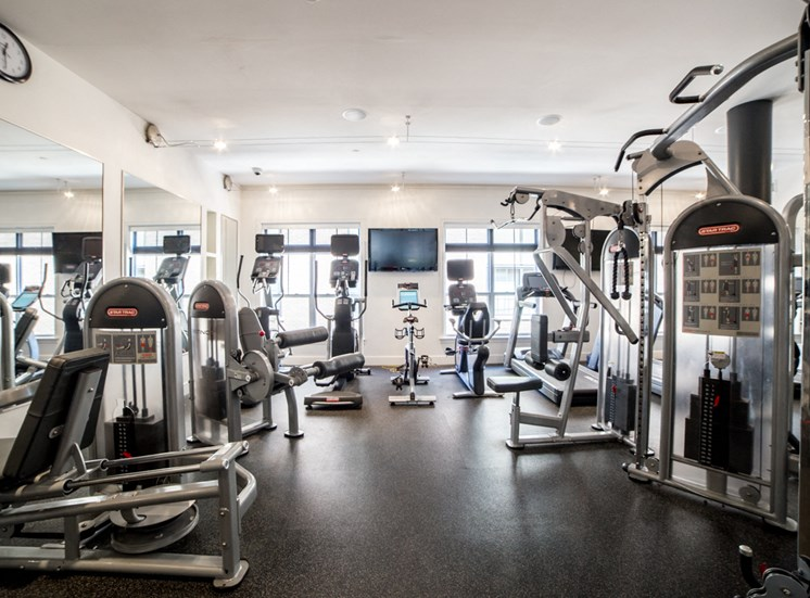 State-of-the-Art Fitness Center at The Foundry, Indiana